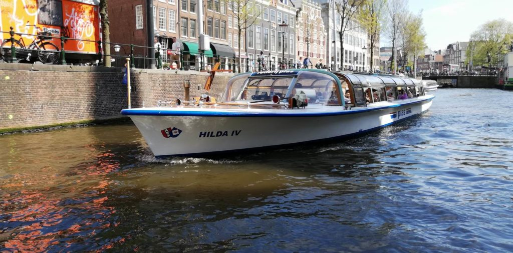 Rondvaartboot Hilda IV